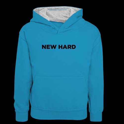 NAAM MERK - Teenager contrast-hoodie