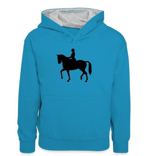 Dressuur 1C - Teenager contrast-hoodie