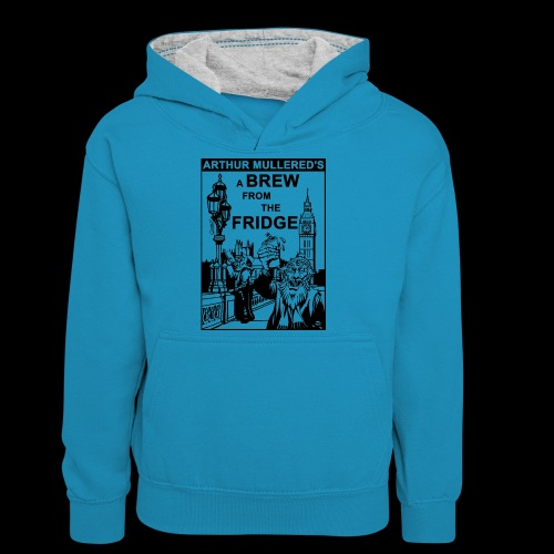 A Brew from the Fridge v2 - Teenager Contrast Hoodie