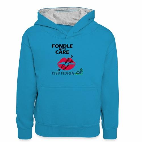 FWC_males - Teenager Contrast Hoodie