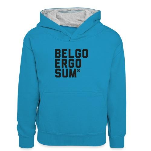 Belgo Ergo Sum - Teenager Contrast Hoodie