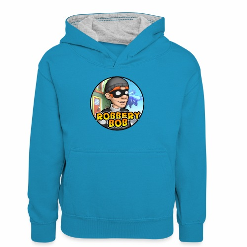 Robbery Bob Button - Teenager Contrast Hoodie
