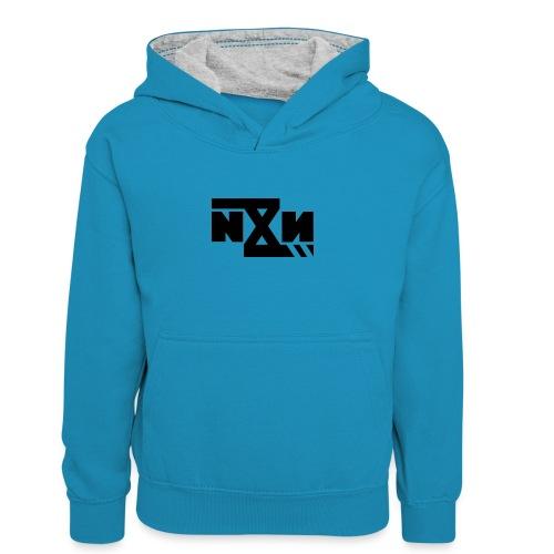 N8N Bolt - Teenager contrast-hoodie