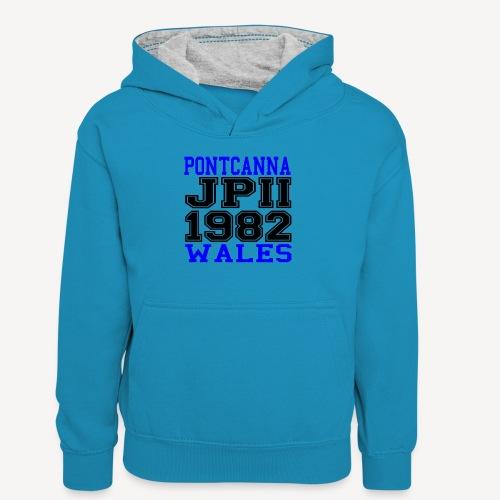 PONTCANNA 1982 - Teenager Contrast Hoodie