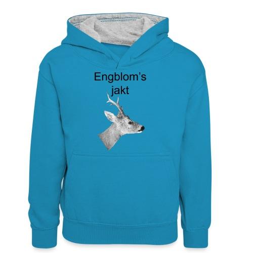 Officiell logo by Engbloms jakt - Kontrastluvtröja tonåring