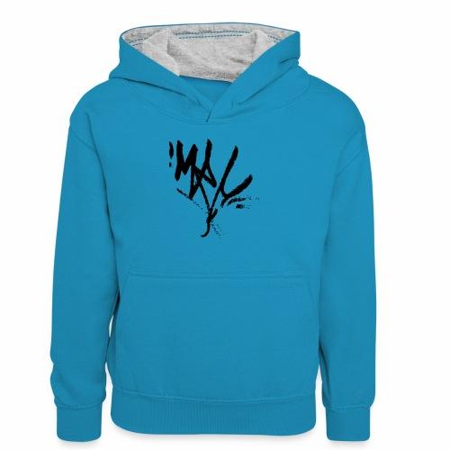 mrc tag - Teenager Kontrast-Hoodie
