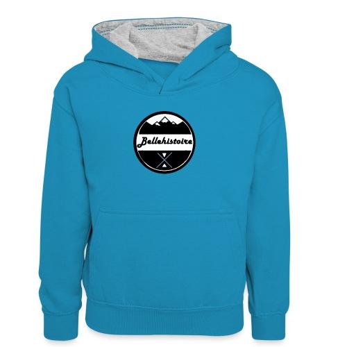 belle histoire - Teenager contrast-hoodie