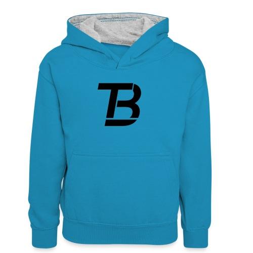 brtblack - Teenager Contrast Hoodie