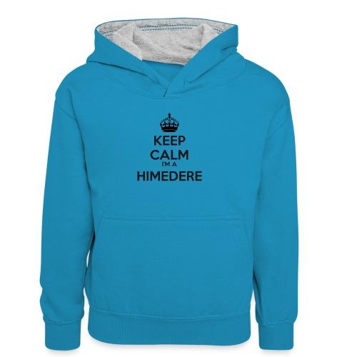 Himedere keep calm - Teenager Contrast Hoodie