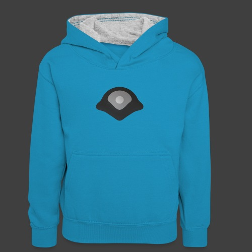 White point - Teenager Contrast Hoodie