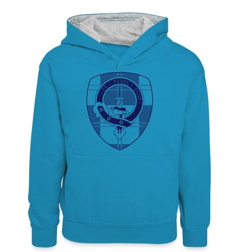 Logo Scouting Erskine 2018 - Teenager contrast-hoodie