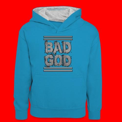 BadGod - Teenager Contrast Hoodie