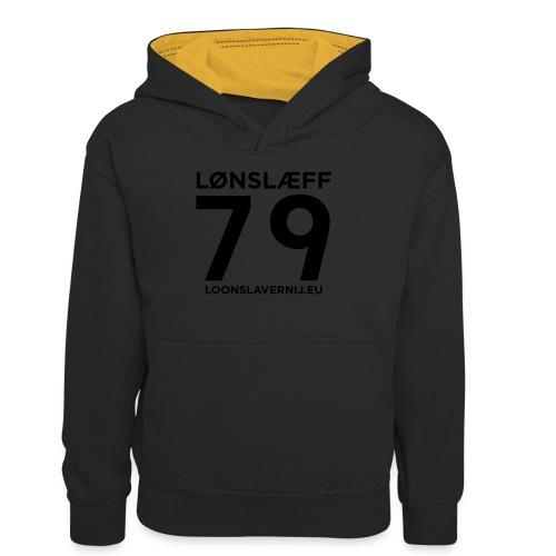 100014365_129748846_loons - Teenager contrast-hoodie
