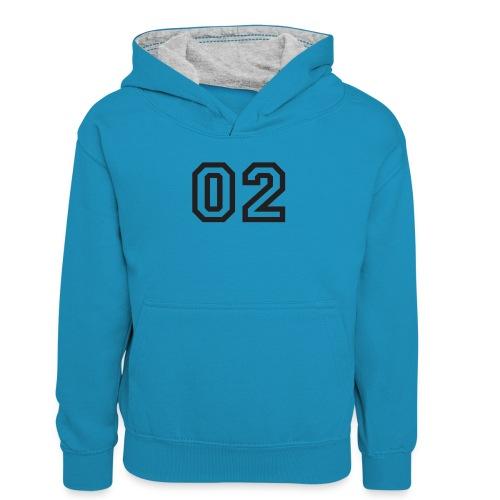 Praterhood Sportbekleidung - Teenager Kontrast-Hoodie
