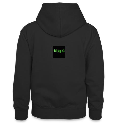 mogc - Kontrasthoodie teenager