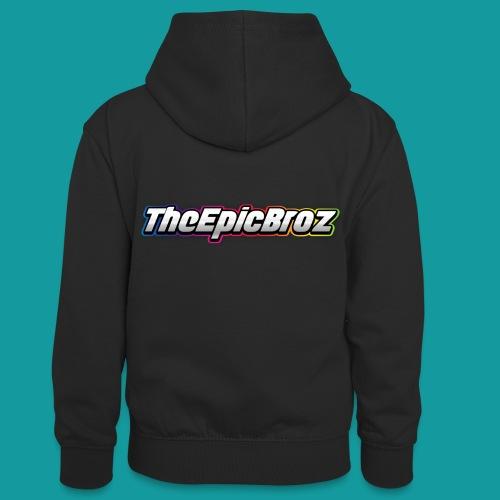 TheEpicBroz - Teenager contrast-hoodie