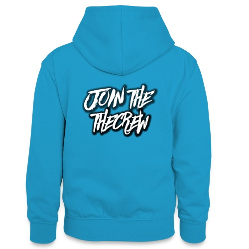 Join The Crew (MORE JOIN THE CREW MERCH SOON) - Teenager Contrast Hoodie
