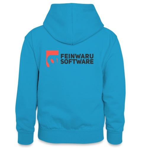 Feinwaru Full Logo - Teenager Contrast Hoodie