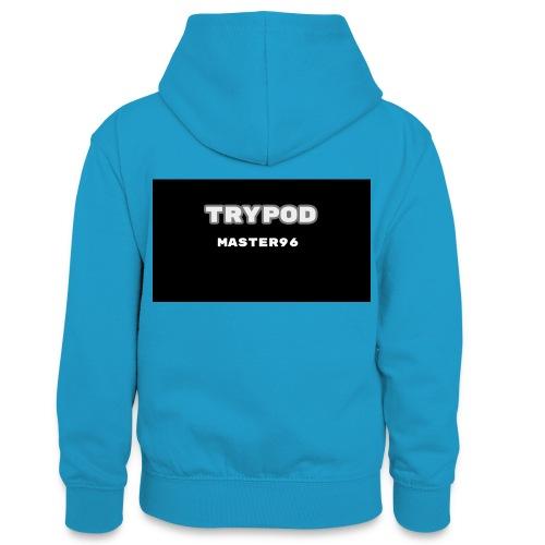 trypod master96 - Teenager Contrast Hoodie