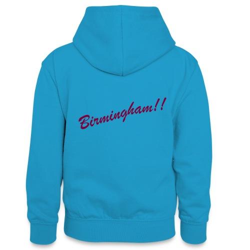 BIRMINGHAM - Teenager Contrast Hoodie