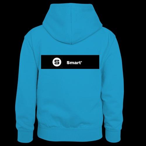 Smart' BOLD - Teenager Contrast Hoodie