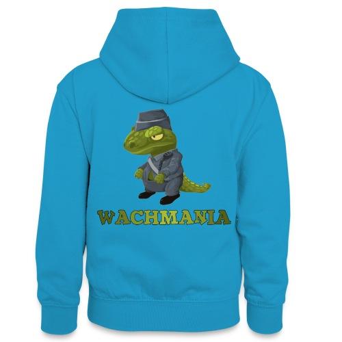 WACHMANIA - Teenager Kontrast-Hoodie