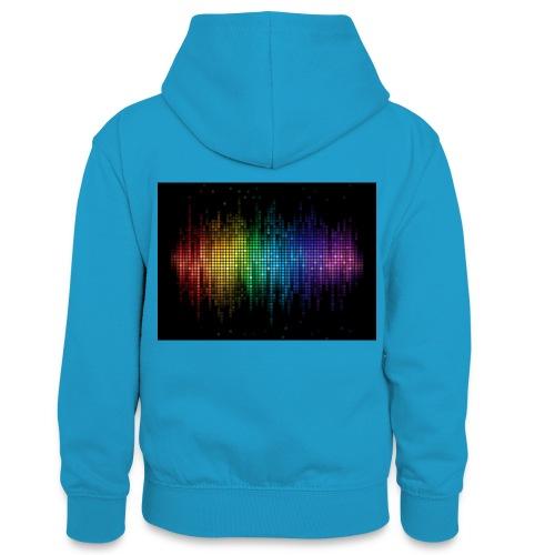 THE DJ - Teenager Contrast Hoodie
