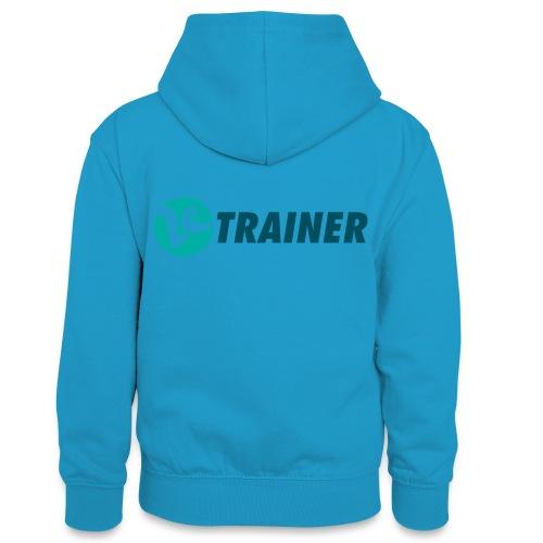 VTRAINER - Sudadera con capucha para adolescentes
