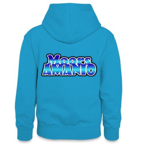 MoorsAmanioLogo - Teenager contrast-hoodie