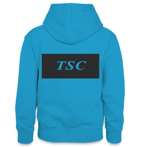 TSC Design - Teenager Contrast Hoodie