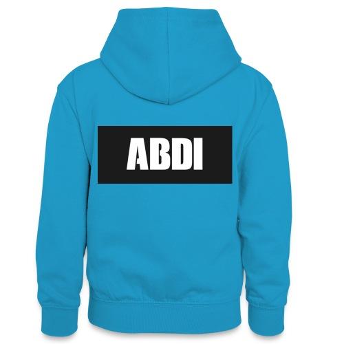 Abdi - Teenager Contrast Hoodie