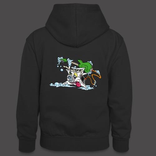 Wicked Washing Machine Wasmachine - Teenager contrast-hoodie