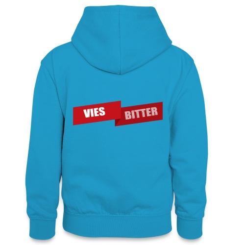 Vies Bitter - Teenager contrast-hoodie