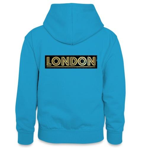 LONDON - Teenager Contrast Hoodie