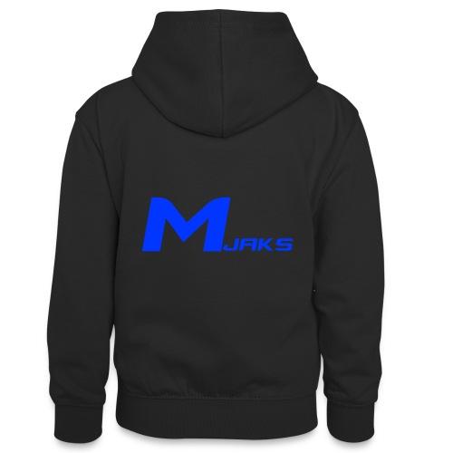 Mjaks 2017 - Teenager contrast-hoodie