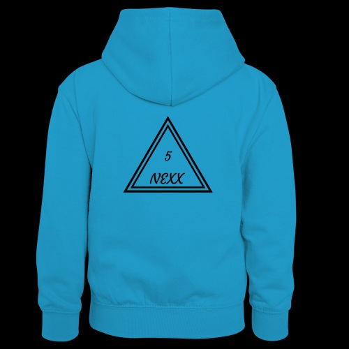 5nexx triangle - Teenager contrast-hoodie