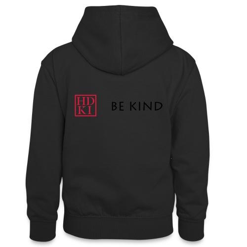 HDKI Be Kind - Teenager Contrast Hoodie