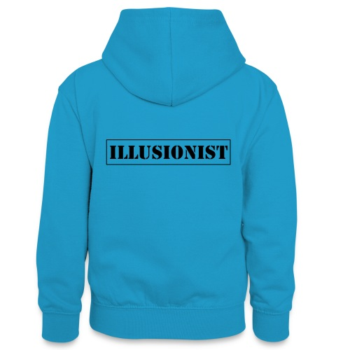 Illusionist - Teenager Contrast Hoodie