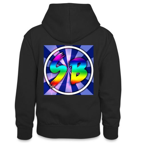 ScooterBros On Yt This Is Our Merch - Teenager Contrast Hoodie