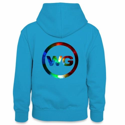 wout games - Teenager contrast-hoodie