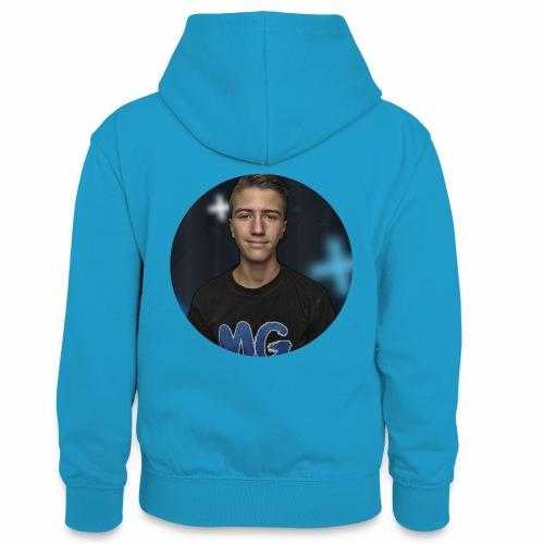 Design blala - Teenager contrast-hoodie