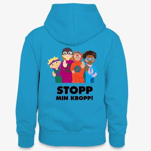 Stopp min kropp! - Kontrastluvtröja tonåring