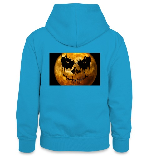 Halloween Mond Shadow Gamer Limited Edition - Teenager Kontrast-Hoodie