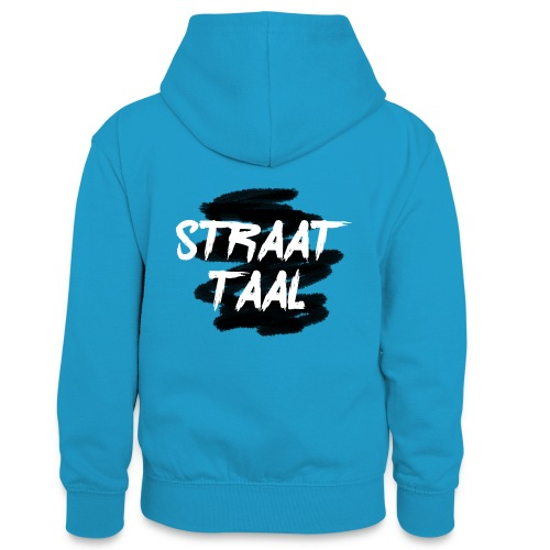 Kleding - Teenager contrast-hoodie