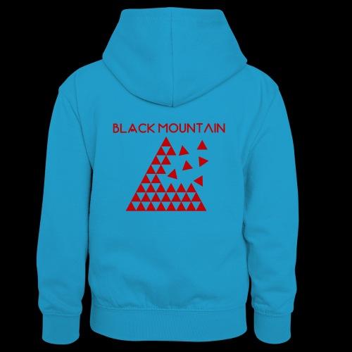 Black Mountain - Sweat à capuche contrasté Ado