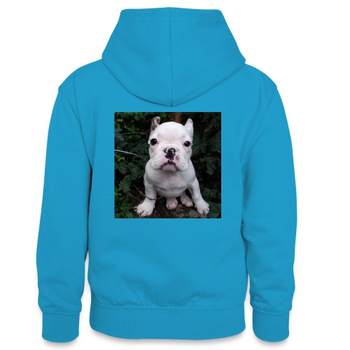 Billy Puppy 2 - Teenager contrast-hoodie
