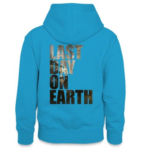 Último día en la tierra - Sudadera con capucha para adolescentes