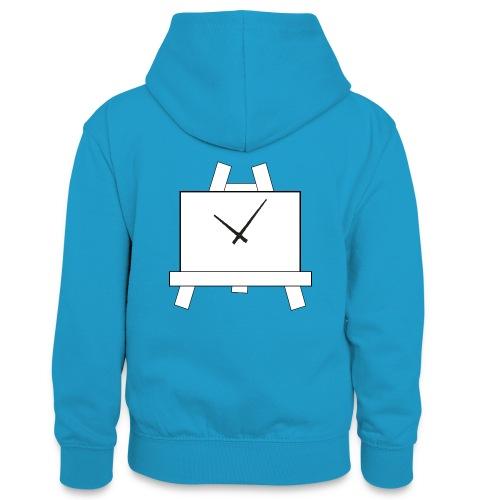 Time 4 Art - Teenager contrast-hoodie