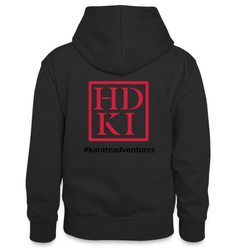 HDKI karateadventures - Teenager Contrast Hoodie