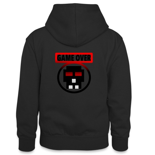 Game over - Teenager Kontrast-Hoodie